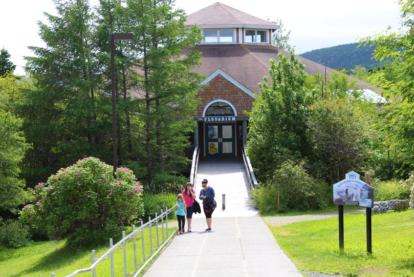 The Fluvarium in St. John's has remained closed since mid-March due to the COVID-19 public health emergency. — TELEGRAM FILE PHOTO