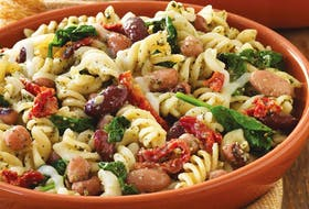 Tuscan Bean & Pasta Toss. CONTRIBUTED