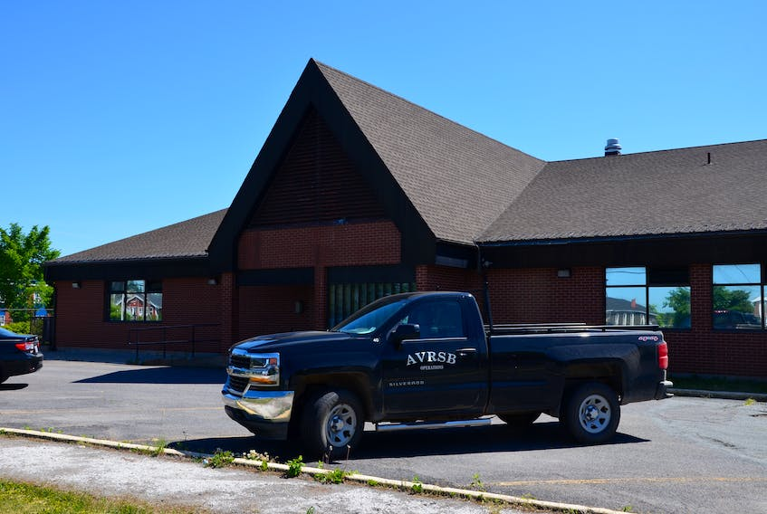 The former RCMP building in New Minas has been acquired by the provincial Department of Education and is currently being renovated. KIRK STARRATT
