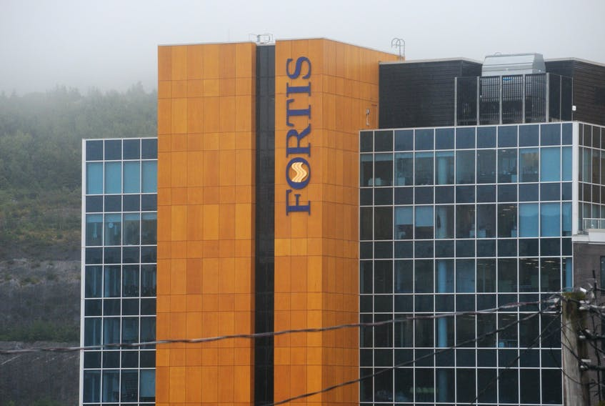 Fortis Inc., headquartered in St. John's, owns several subsidiary electric and gas utility companies in Canada, the United States and the Caribbean region. — ANDREW ROBINSON/THE TELEGRAM