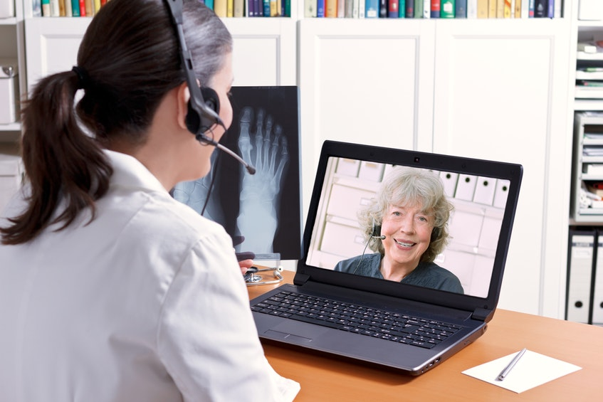 During COVID-19, patients and doctors both got a better idea of how virtual care could work on the East Coast.  - RF Stock