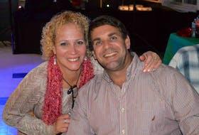 "Rebecca Padilla with her husband, Edward ""Eddie"" Joseph Lavoie."