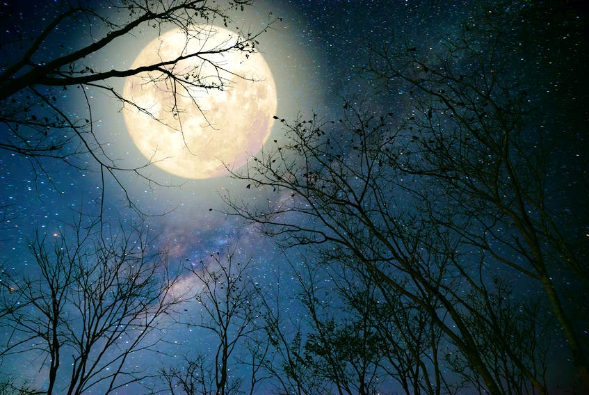 Why do people attribute human behaviours to the moon? According to Glenn Roberts, the belief dates back to the ancient Romans.
