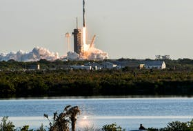 A SpaceX Falcon 9 rocket lifts off from Kennedy Space Center Jan. 20. The rocket is carrying the 17th batch of Starlink satellites. - Craig Bailey/FLORIDA TODAY