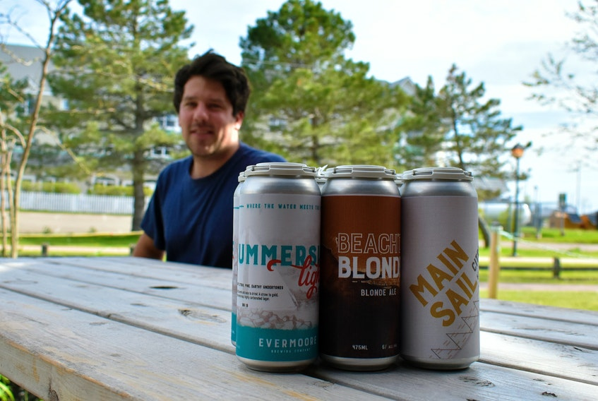 """Alex Clark, the owner of Evermoore Brewing Company in Summerside, said, """"Delivery helped us continue to have some income throughout the pandemic. It allowed us to cover most fixed expenses, but we were very much down during this time. We were very appreciative of the support and new customers we had coming out. It saved us."""""""