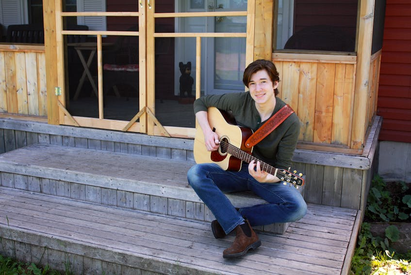 2020 grad Dane Pederson has contributed to the success of the music and band program at Memorial High School, Sydney Mines for a number of years and is likely to embark on a successful music career.