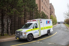 An EHS ambulance departs the Halifax Infirmary in Halifax on Monday June 3, 2019. File Image / Tim Krochak / The Chronicle Herald
