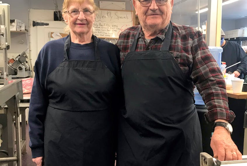 Bobby and Jean Vasheresse have been operating their business in Antigonish for 50 years.