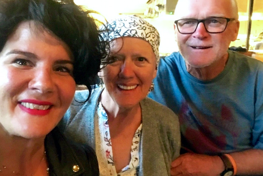 While sitting at a bar in St John's, NL Emilie Chiasson struck up a conversation with the lovely couple sitting beside her. Chiasson works for Ovarian Cancer Canada and the woman had just finished treatment for ovarian cancer.
