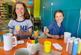 Heather took a day off and had a great afternoon with her kids at Clay Cafe Truro. – Heather Laura Clarke Photo