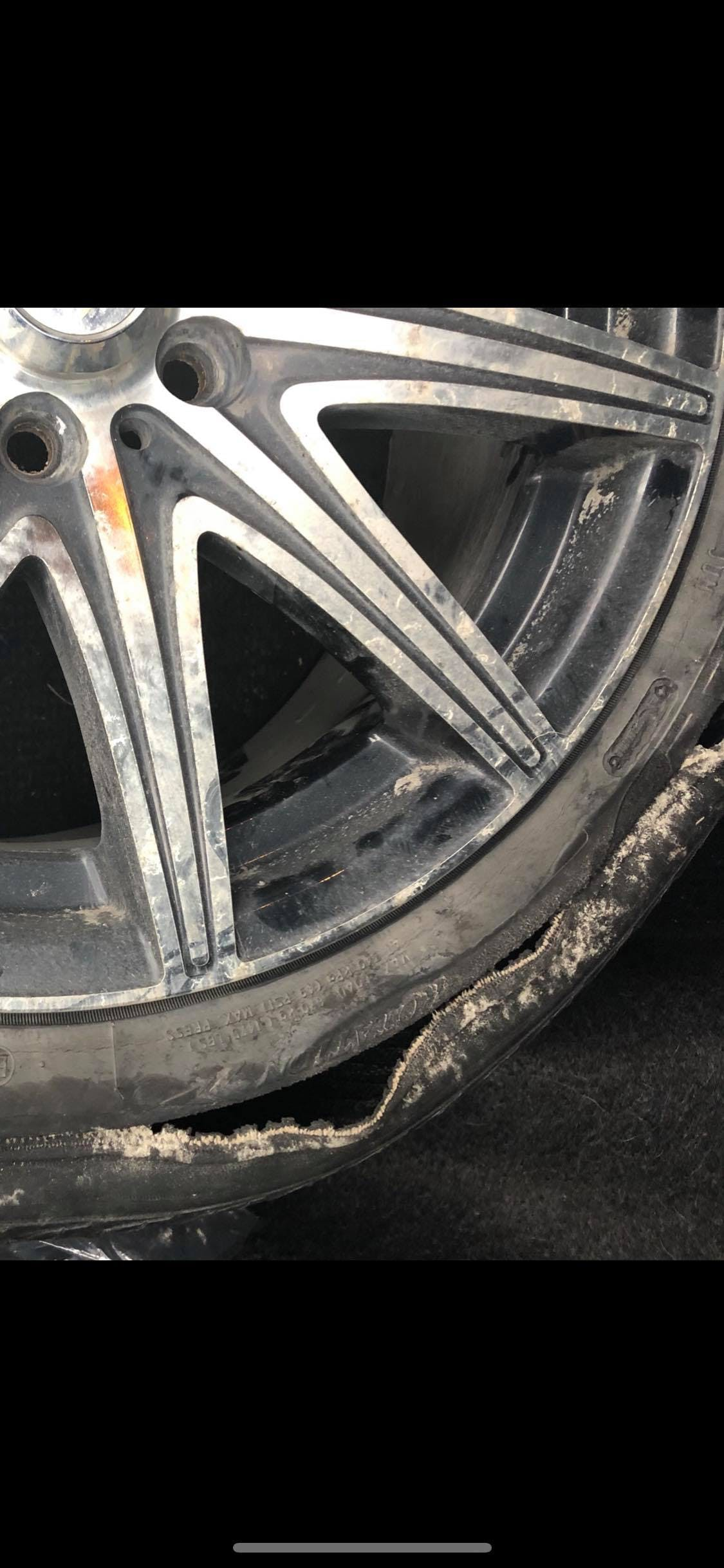 Frances woke up one morning in December to find her tire slashed and she reported it to police. She has no way of knowing who slashed her tire, however, is worried about possible escalating violence because there were also a new slew of abusive emails from her ex that morning. CONTRIBUTED