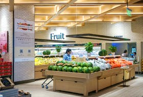 At 7Fresh grocery store in Beijing, I stood in awe of the QR codes affixed on every single piece of fruit.