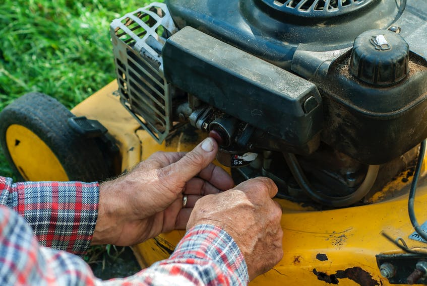 Take the time to do simple maintenance on your lawnmower this fall before you put it away for storage.