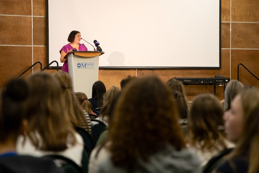 Girls 2021 Conference organizer KelleyAnne Malinen says this year's virtual conference on March 5 will look at empowering young women and fostering community building so they build a more equitable future together.