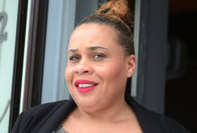Feb. 22, 2021--Tia Upshaw, an African Nova Scotian entrepreneur who started professional development workshops under the umbrella of her non-profit organization called Blk Women in Excellence, wants to help budding Black women entrepreneurs here in Nova Scotia and across Canada.   ERIC WYNNE/Chronicle Herald