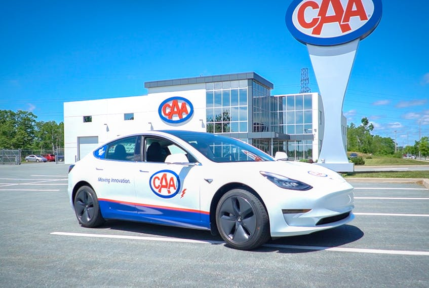 CAA Atlantic has a Telsa that is available for test drives in the Halifax Regional Municipality. Interest has been high, even during COVID.