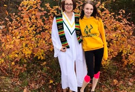 Kayley Miller, who will be graduating from Digby Regional High School in Nova Scotia, says she is disappointed there won't be a prom or graduation this year. She believes that by trying hard, we will all be able to get through the crisis together.