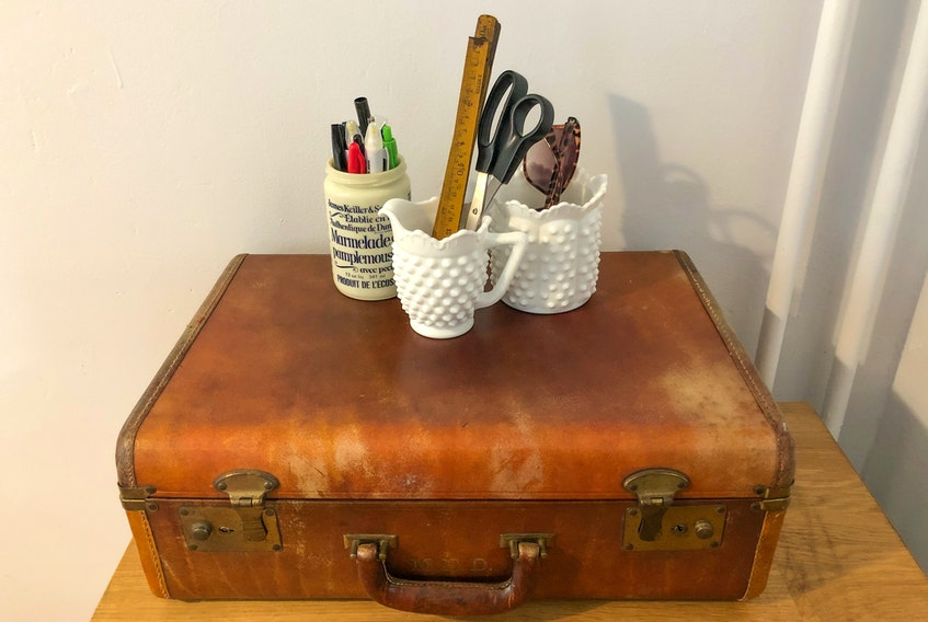 Have an old sugar or creamer dish laying around? Upcycle it into a container to hold pens and stationery. It will reduce clutter and put items that are collecting dust to better use.