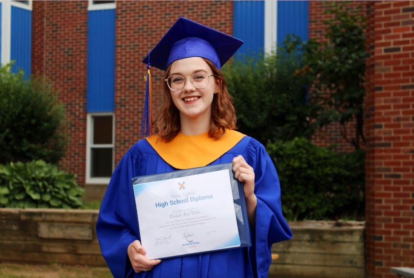 Rebekah Wade is one of 80 recent graduates from Middleton Regional High. CONTRIBUTED