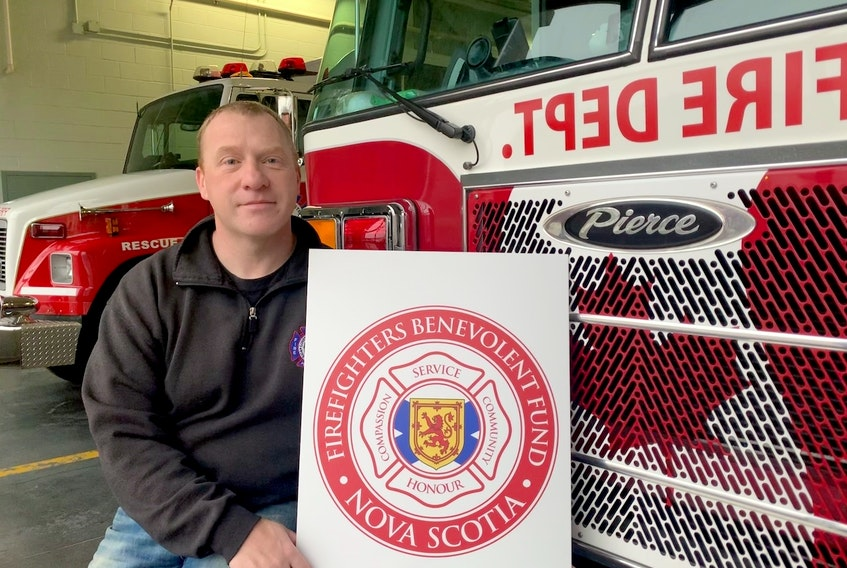 Martin Walton, president of the newly launched Nova Scotia Firefighters Benevolent Fund, says the society's mission is to provide financial support to firefighters and their families in times of acute crisis. - Sarah Walton