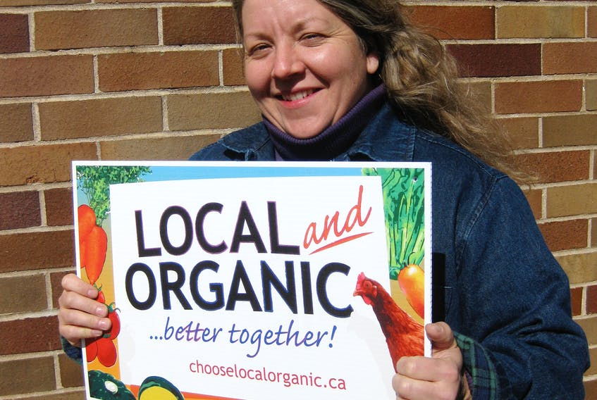 Allison Grant, of Brooklyn, Queens County, is a long-time advocate for the adoption of organic farming practices. She is also an inspector and verification officer who monitors certified organic products grown on farms in the Atlantic Region.