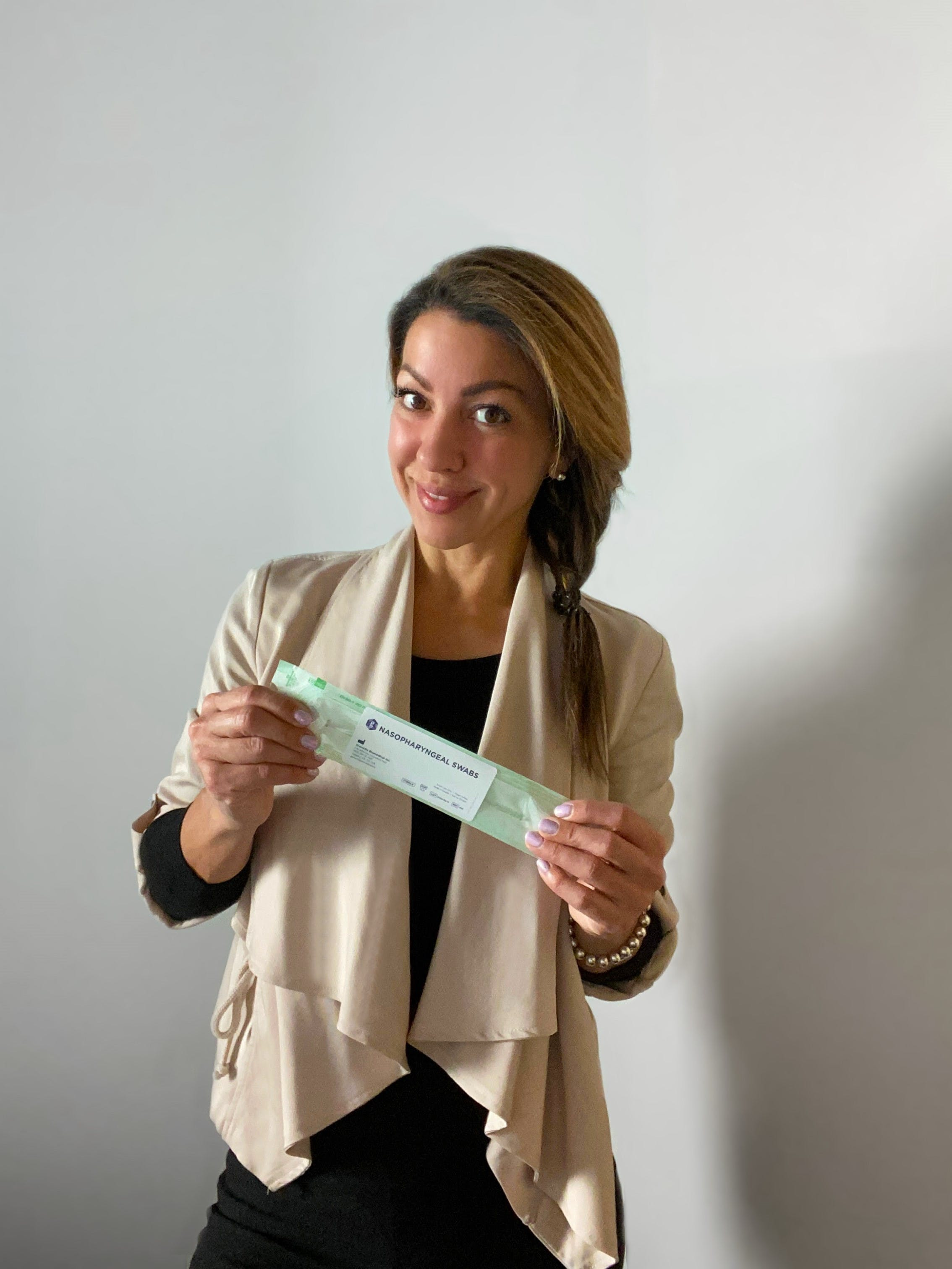 Christine Goudie and her team at Granville Biomedical have successfully developed Health Canada-approved nasopharyngeal swabs for COVID-19 testing after pivoting during the pandemic.