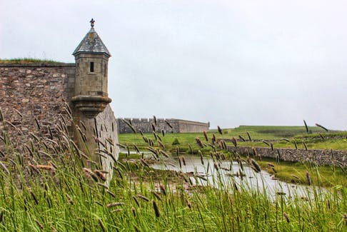 The Fortress of Louisbourg in Cape Breton remains open throughout the year. As operations move into the low season and there are fewer people around, visitors feel like they've taken a step back in time.
