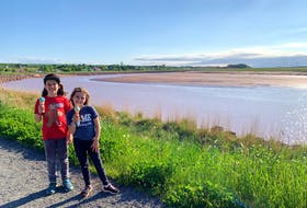 Heather Laura Clarke's 10-year-old son, left, and eight-year-old daughter are navigating a summer where nothing is normal.