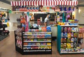 Bridgewater teen Mikka Kaulback operates Mikka's Sweet Tooth Candy Shoppe.