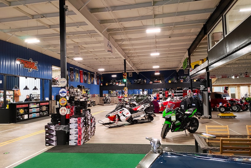 Cross Roads Cycle Sales has moved into its new home in the former Seagull Pewter building in Pugwash. The building also includes a construction division that builds and sells build-to-order sheds for Old Hickory Buildings of Canada. Contributed