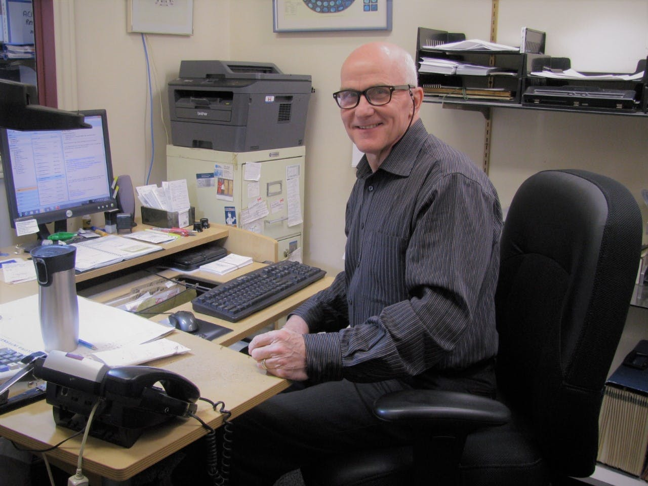 Dave Reid, owner of Reid Jewellers in Kentville, has worked in the jewellery industry for eight years now. - D. Reid photo
