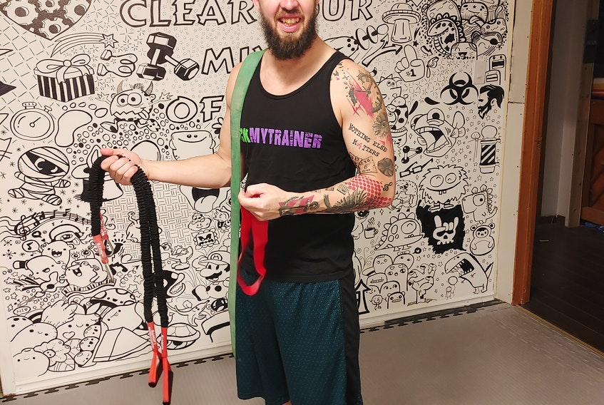 Nova Scotia Fitness Association board member and personal trainer Rick Horsman says resistance bands provide an effective, full-body workout, but cautions that they should not be used alone, but rather alongside other workout tools or exercises.