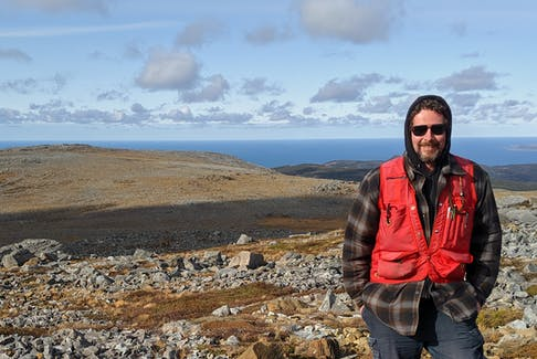 Mark King, who has been the geologist at Mistaken Point Ecological Reserve in Newfoundland since 2018, says the site's fossils show the evolution of when life on earth moved from single-cell organisms to large, complex, diverse forms.