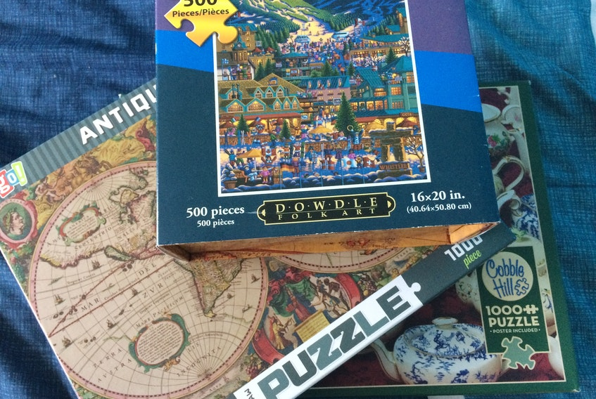 Hobby businesses across Atlantic Canada say there's been a significant increase in demand for items like puzzles.