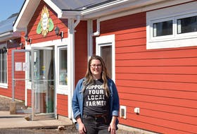 Lindsay Clowes, manager of the WFM2Go program, says the Wolfville Farmers' Market is a vital part of the community. Its online ordering and weekly delivery service is even more valuable in light of social distancing during the COVID-19 crisis.