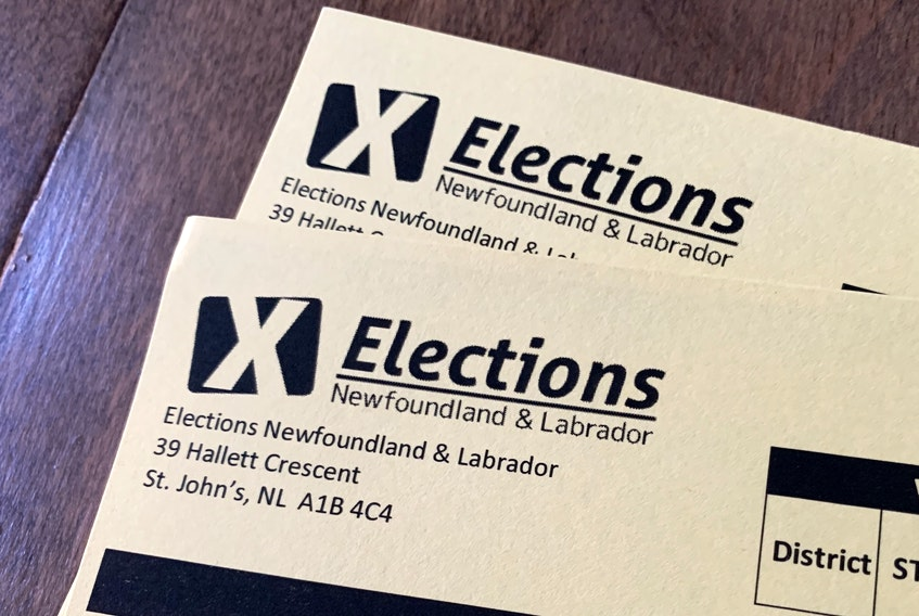 Newfoundland and Labrador election ballots are being counted. FILE PHOTO