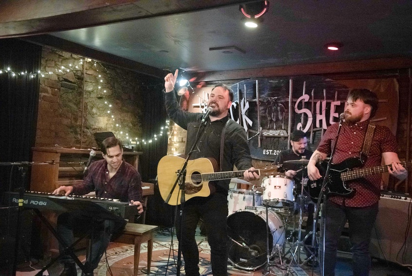 The Labrador-based Silver Wolf Band headed to St. John's for MusicNL week and to perform for local audiences. — Contributed/Christopher Deacon