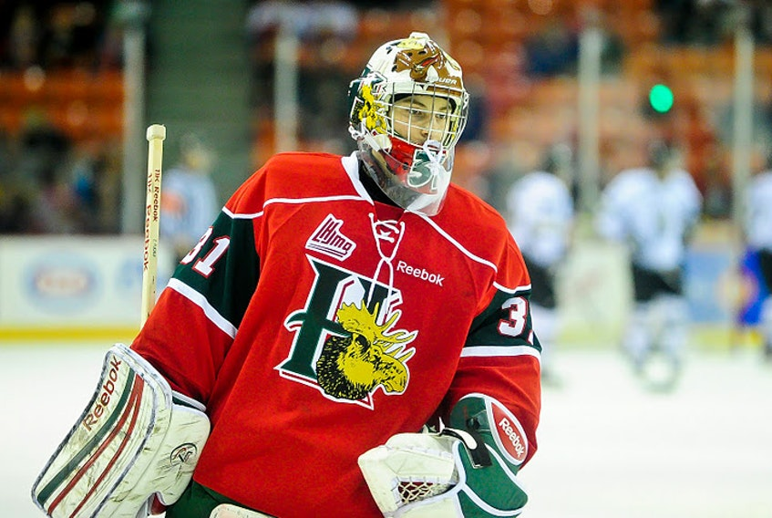 Former Halifax Mooseheads goalie Zachary Fucale was recalled by the Washington Capitals on Tuesday. (HALIFAX MOOSEHEADS)