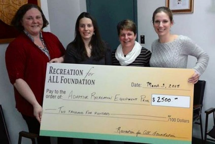 <p>The Recreation for ALL Foundation recently presented $2,500 to The Town of Shelburne.</p> <p>Contributed photo</p> <div>&nbsp;</div>