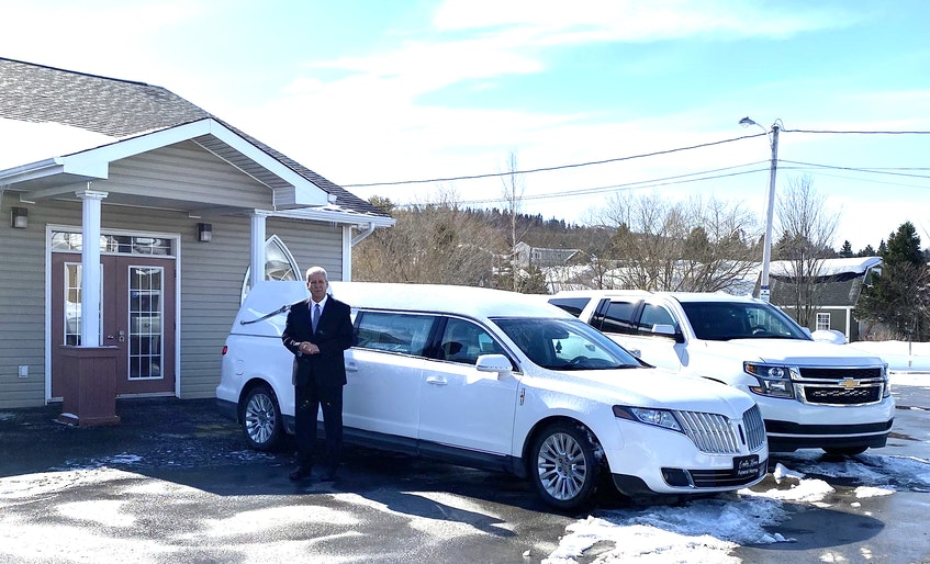 Dwayne Parsons, owner of Country Haven Funeral Home in Corner Brook. - Contributed