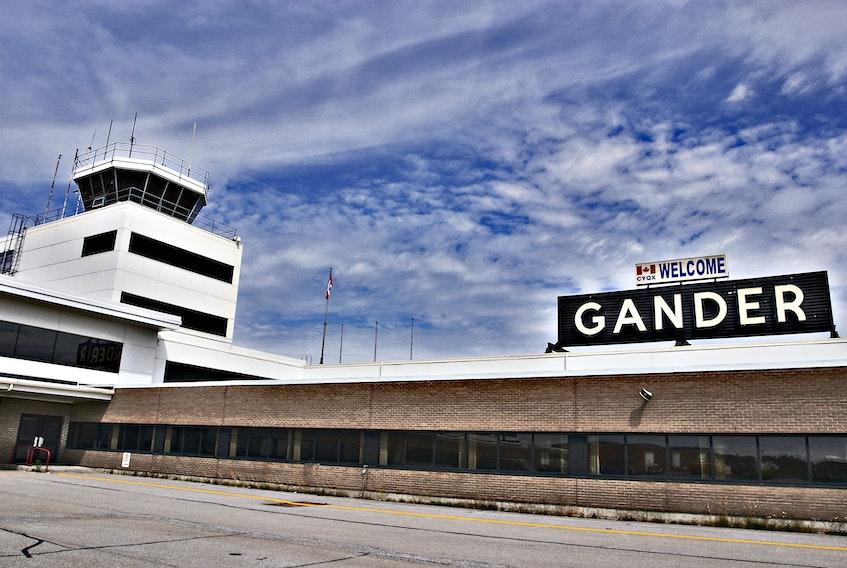 Gander International Airport. — File photo
