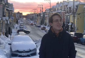 Luis Muehlbauer of Bad Münder, Germany, has been enjoying his time in St. John's as part of the international student exchange program, despite a rough year that included Snowmageddon and the COVID-19 pandemic. — CONTRIBUTED