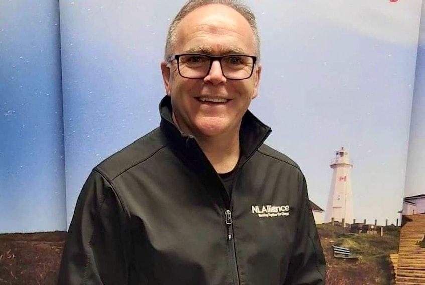 Newfoundland and Labrador Alliance Leader Graydon Pelley.