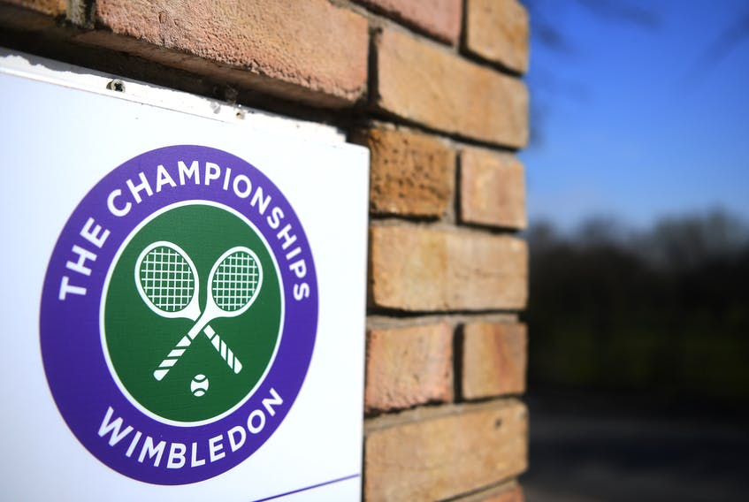 Wimbledon, which was supposed to be played from June 19 to July 12, was canceled because of the coronavirus yesterday. Getty Images