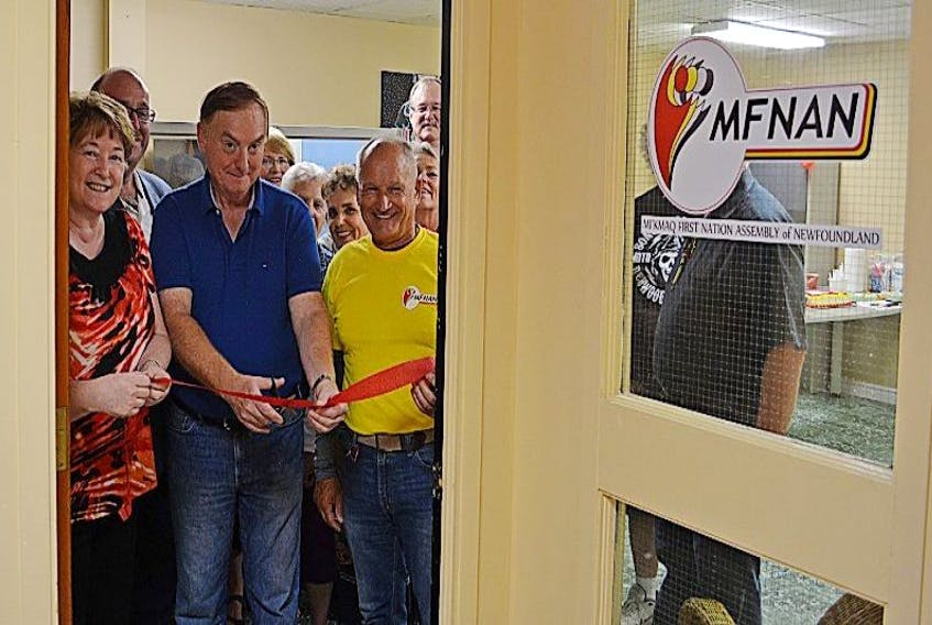 The Mi'Kmaq First Nations Assembly of Newfoundland's office is now officially opened on Tuesday's and Thursday's between 1-4 p.m.