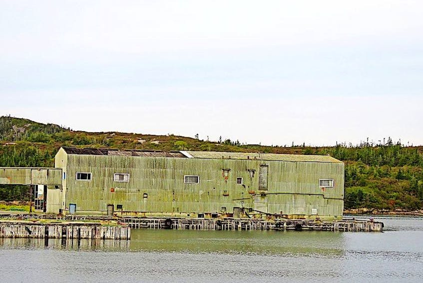 The Barry Group fish plant.The Barry Group fish plant.