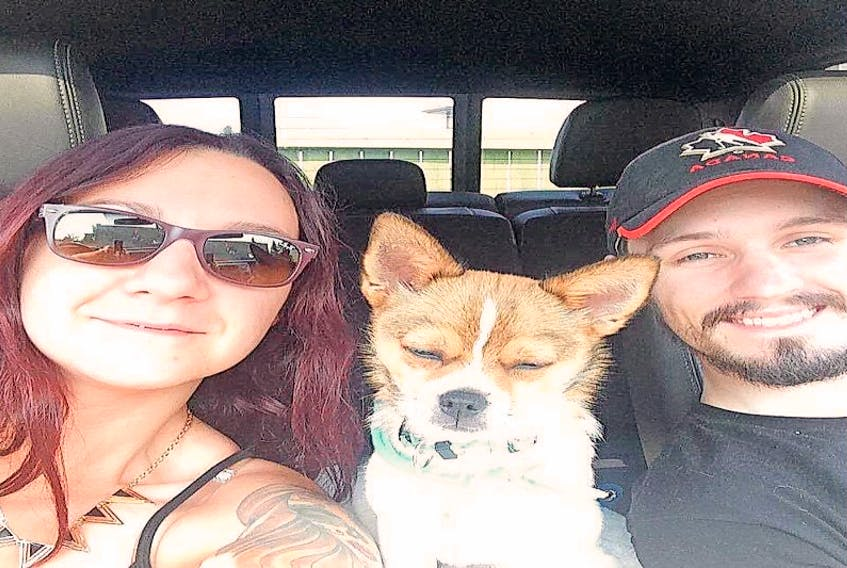 Siblings Angela and Craig Fougere had their trucks containing all of their possessions stolen amid Fort McMurray evacuation.