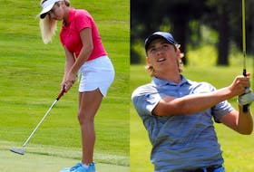 Ashburn's Abbey Baker and Truro's Owen Mullen are at this week's Golf Canada national junior squad selection camp in Victoria, B.C. The only Nova Scotians at the week-long camp are vying to become the first players from this province to be selected to a national team in five years.  NOVA SCOTIA GOLF ASSOCIATION