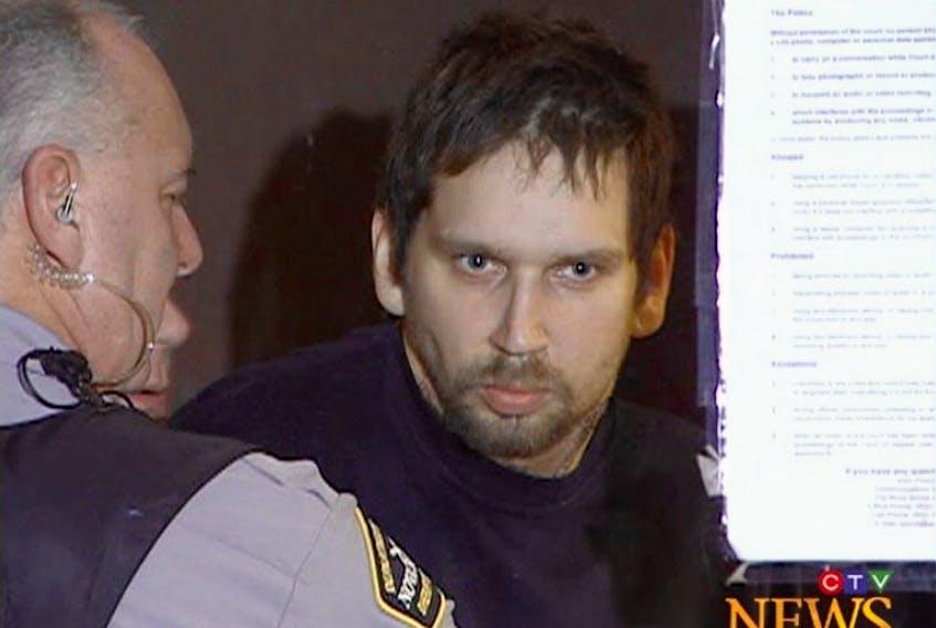 Gordon Nickerson during an earlier court appearance. CTV News photos