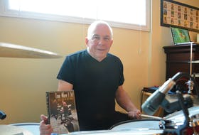 """Grand Falls-Windsor's Bruce Bishop recently wrote a book on the history of music in central Newfoundland, titled """"From Where I Sit; The Best Seat In The House"""". Nicholas Mercer/The Central Voice"""